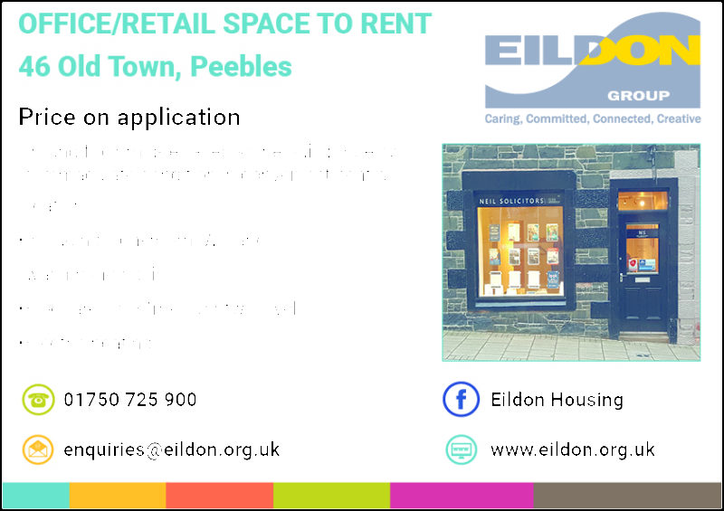 Office or retail space to rent in Peebles