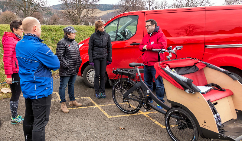 Eildon gets behind  'Cycling without Age' Project in Peebles