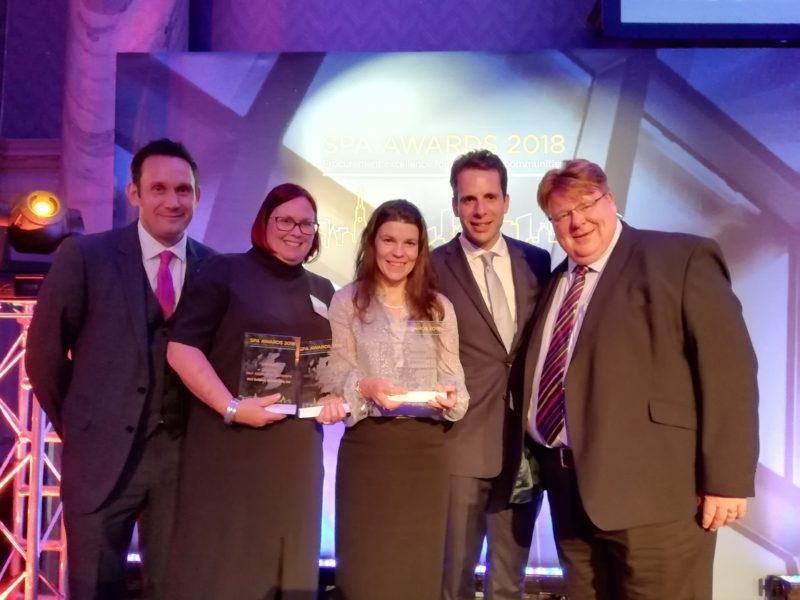 Eildon & Hart Builders Triumph at Scottish Procurement Alliance Awards