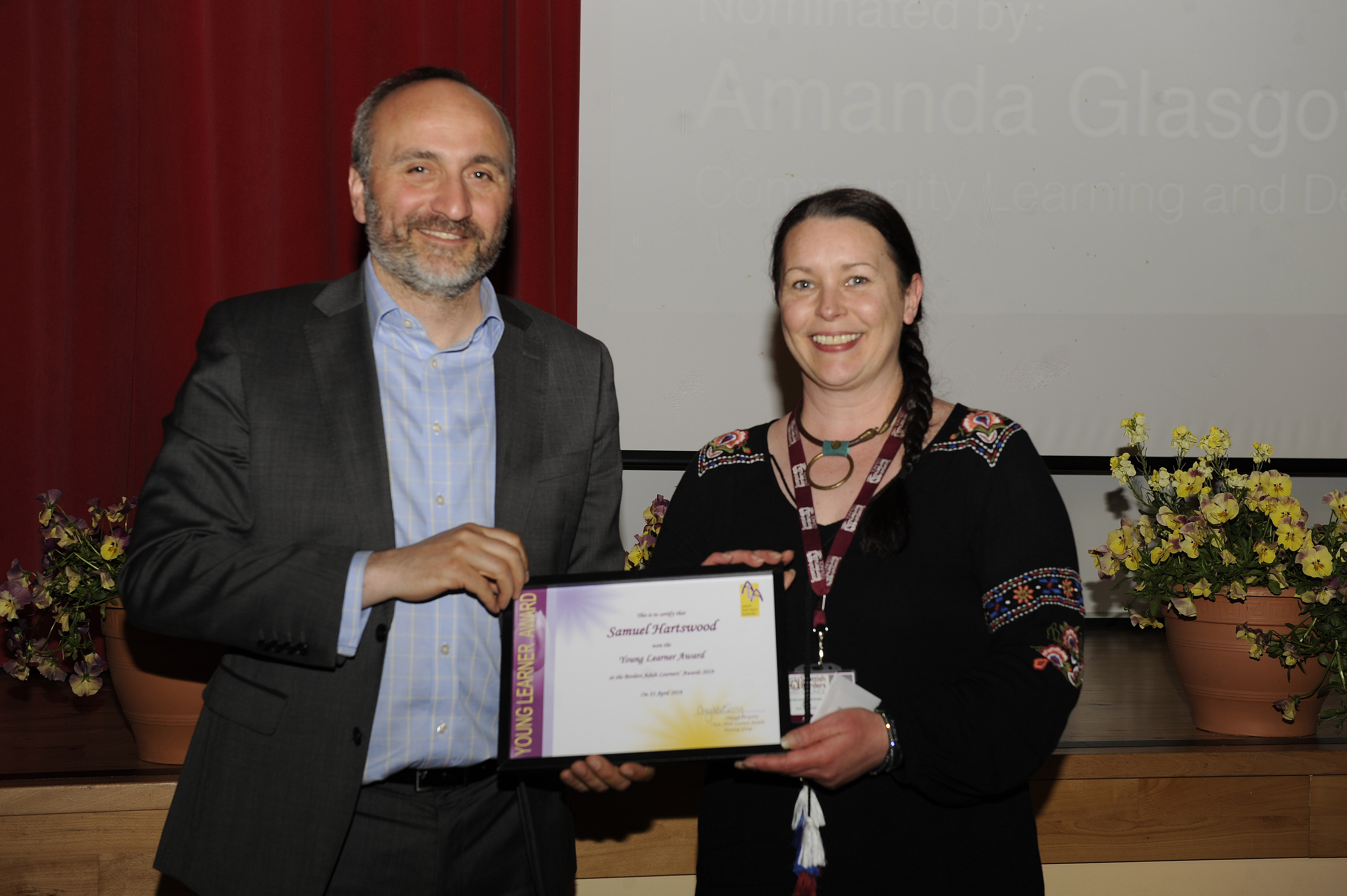 Eildon proud to support Borders Adult Learner Awards