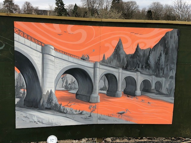 Youth Group paint their way around Peebles