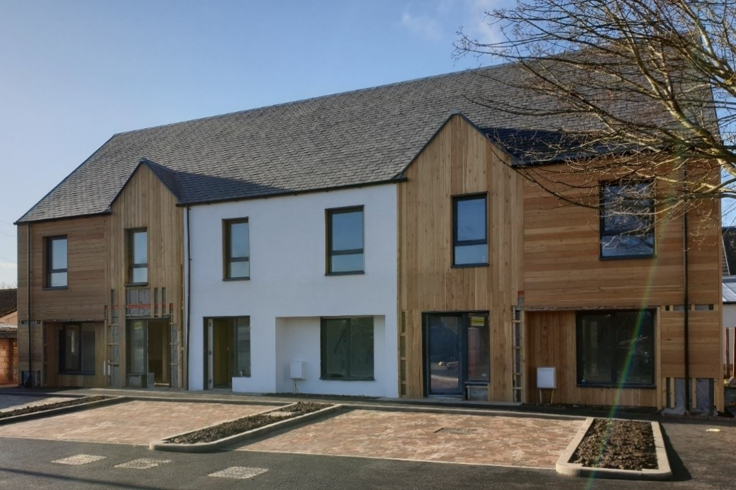 Another step closer to affordable green homes in the Borders